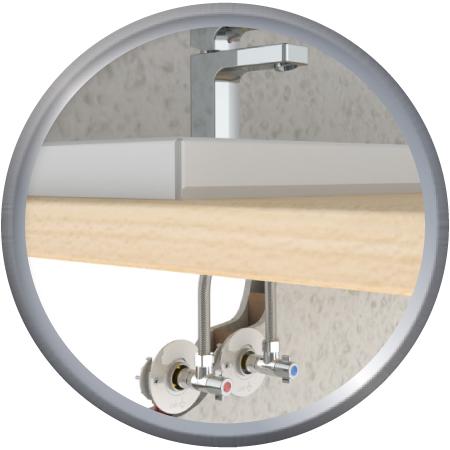 FIXOPLAC lavabo Alvéolaire glissement PER10/12-M12/17