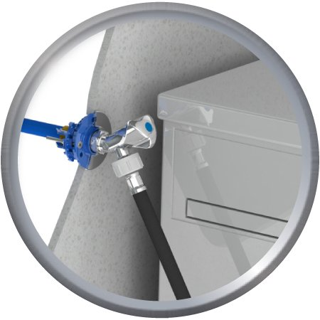 FIXOPLAC machine à laver Droit glissement PER10/12-F15/21