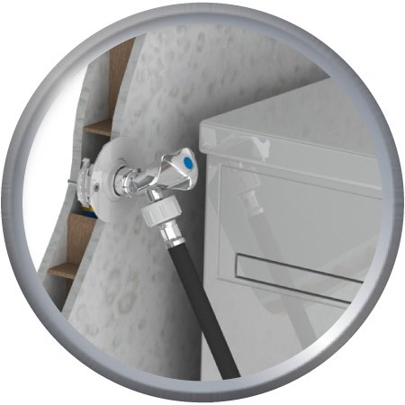 FIXOPLAC machine à laver Alvéolaire glissement PER10/12-F15/21