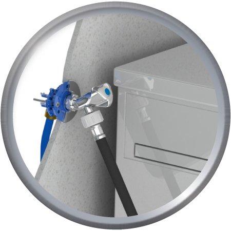 Kit Fixoplac machine à laver + Robinet glissementssement D16